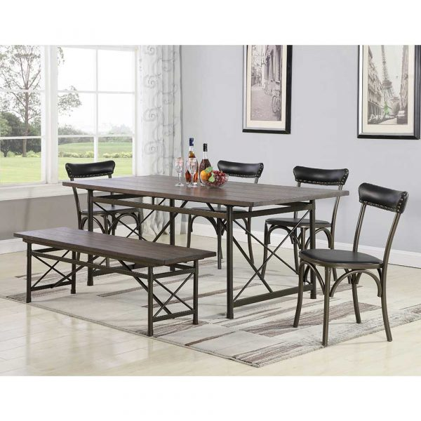 Dining Sets with Cushion Chair