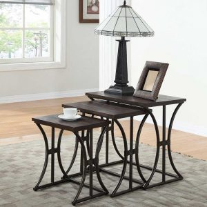 3 Piece Nesting Table Sets