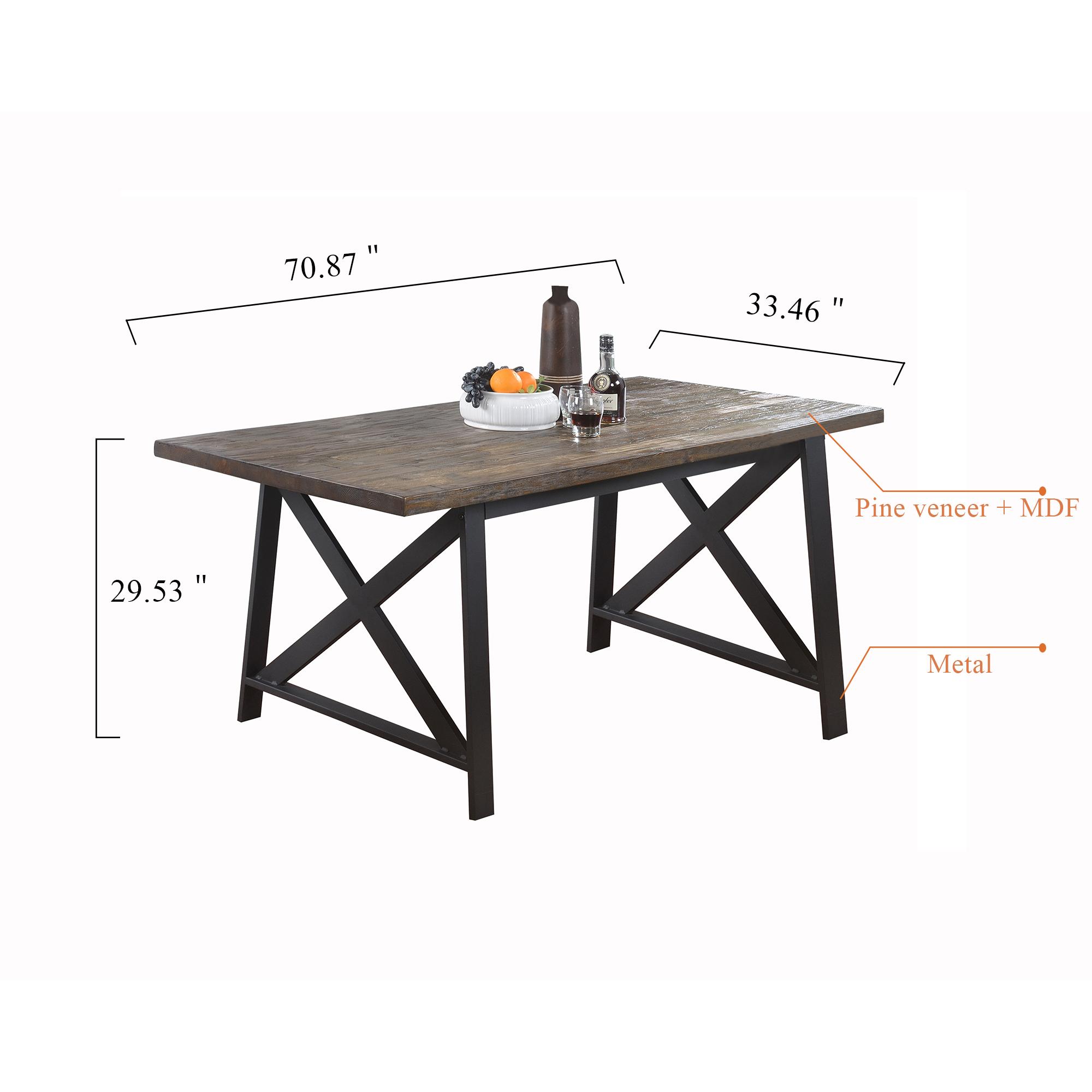 1683D Rustic table set 桌子 副本 2