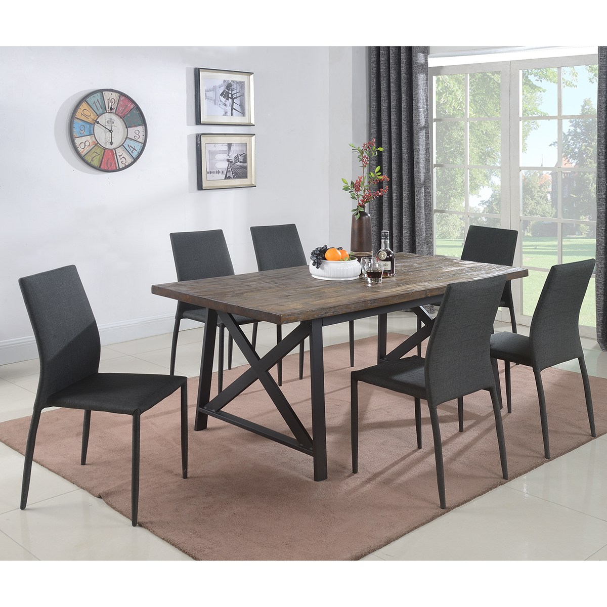 1683D Rustic table set 1