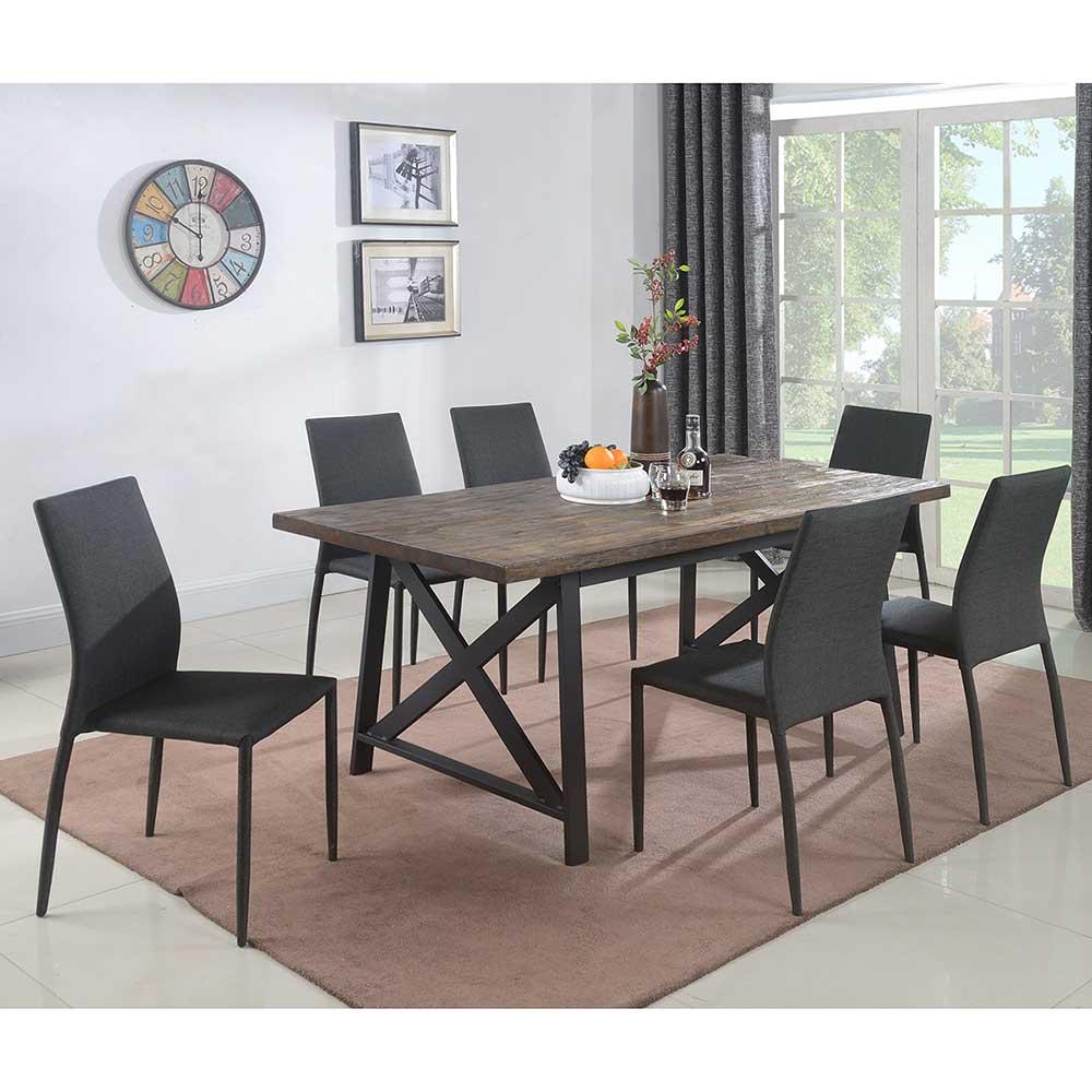 1683D Rustic table set