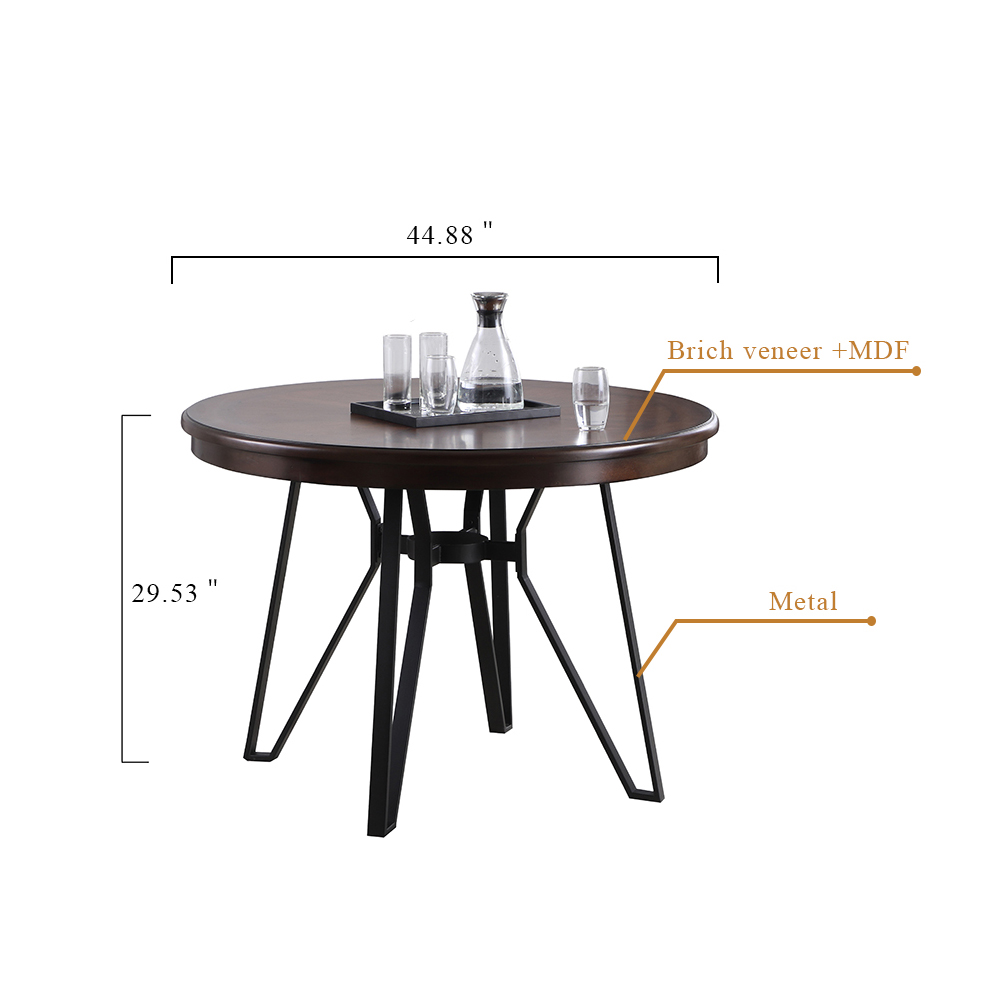 1860D Dining table set cm 副本