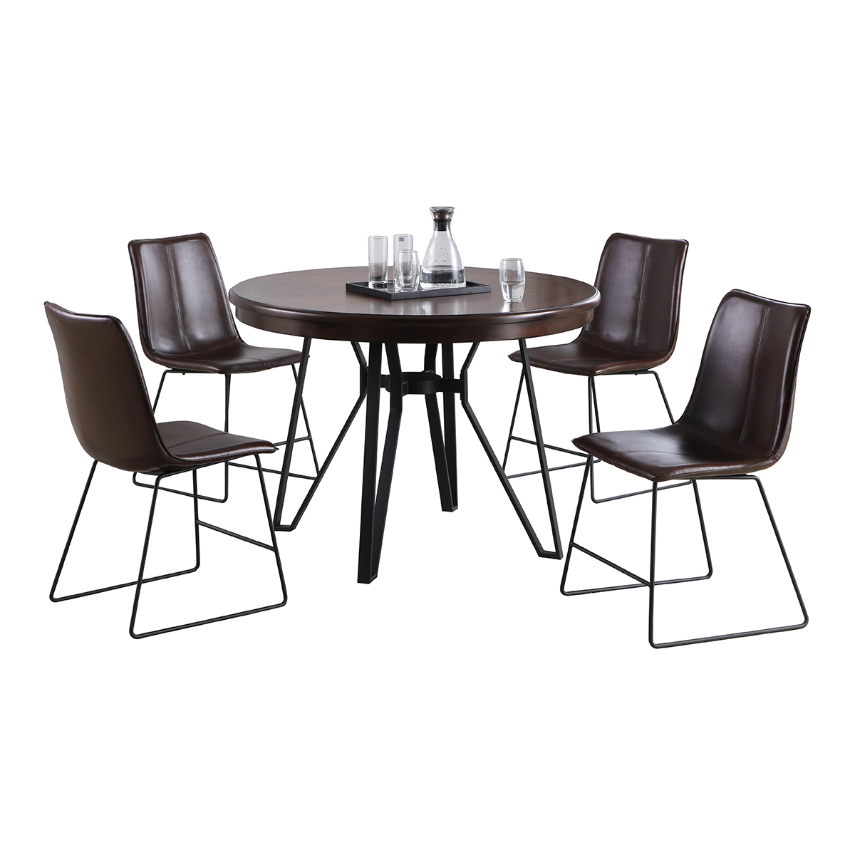 Cherry Top Dining Table Sets