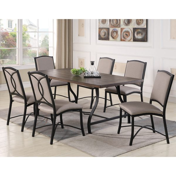 1868B Dining table set DT 1
