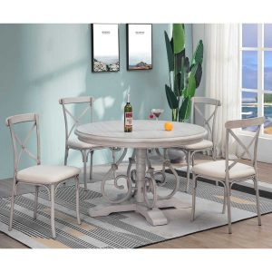 Round Hand-make Dining Room Sets