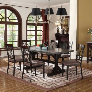 Brown Dining Sets with Side Chair