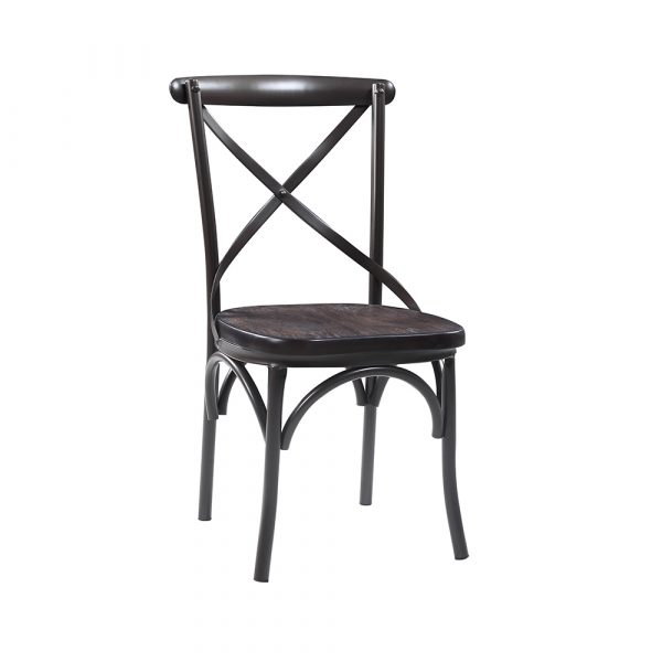 Black Antique Dining Chair
