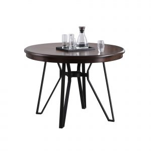 DT-20080-A Cherry Modern Round Dining Table