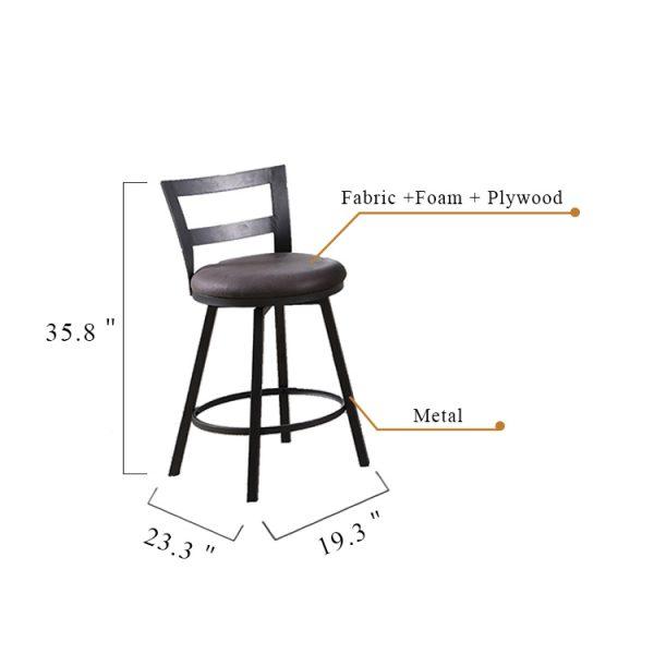 1866P 椅子尺寸