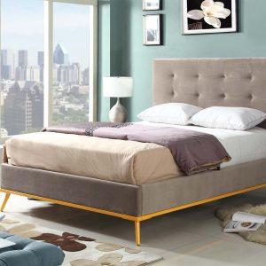 Modern Upholstered Bed