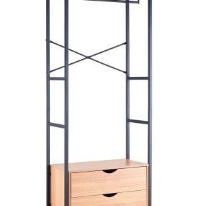 Retro Drawer Shelf Book Rack