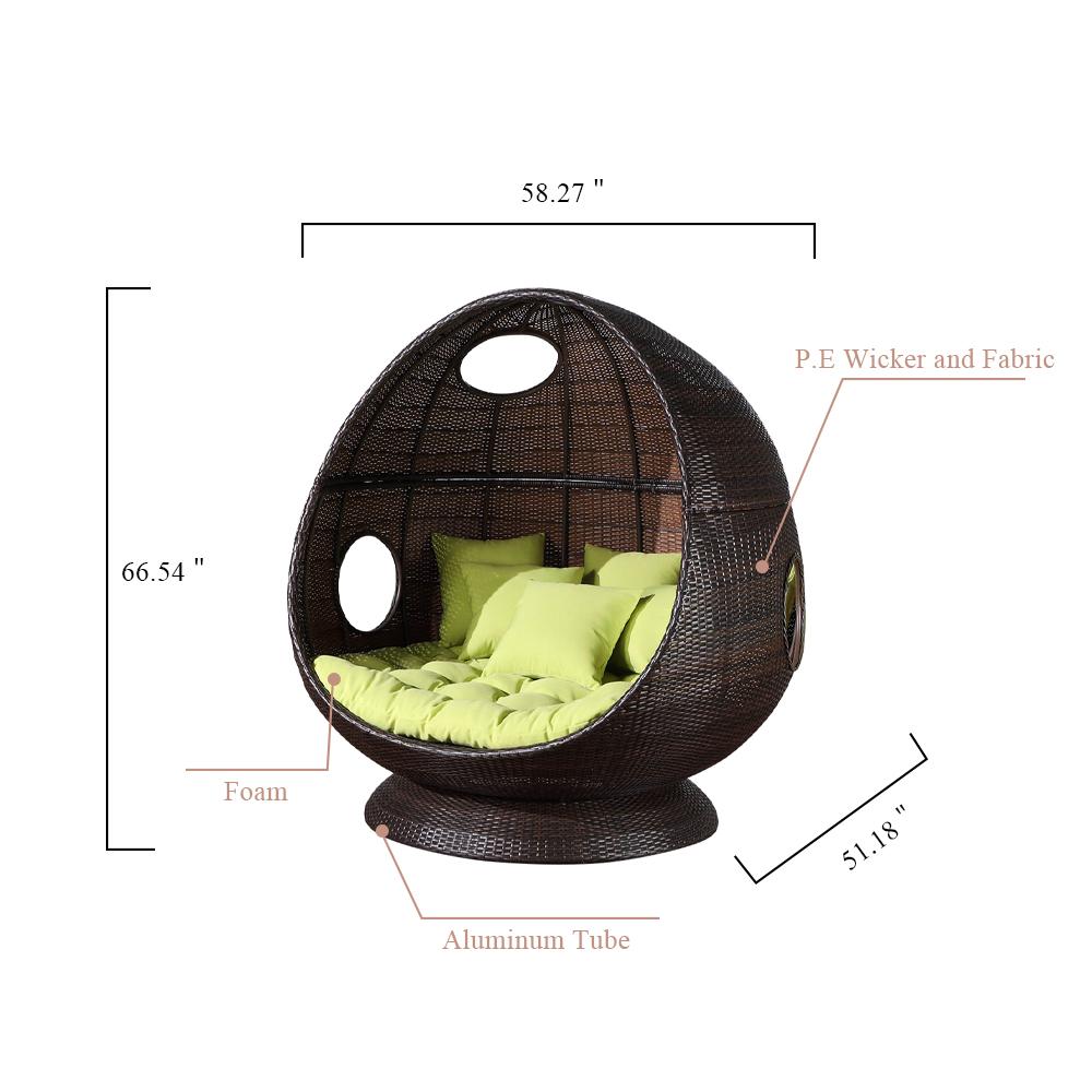 OD879 Egg chair 白底 副本