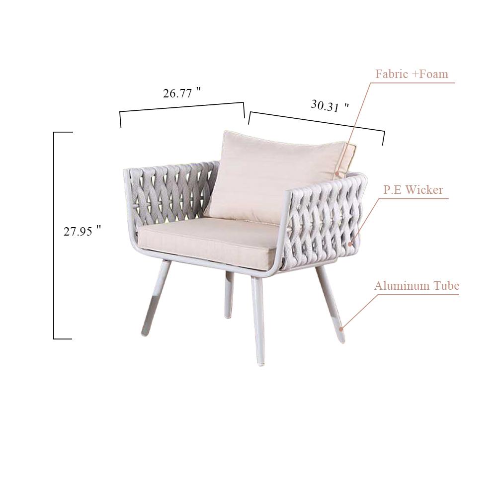 OD880 Sofa set 椅子 副本