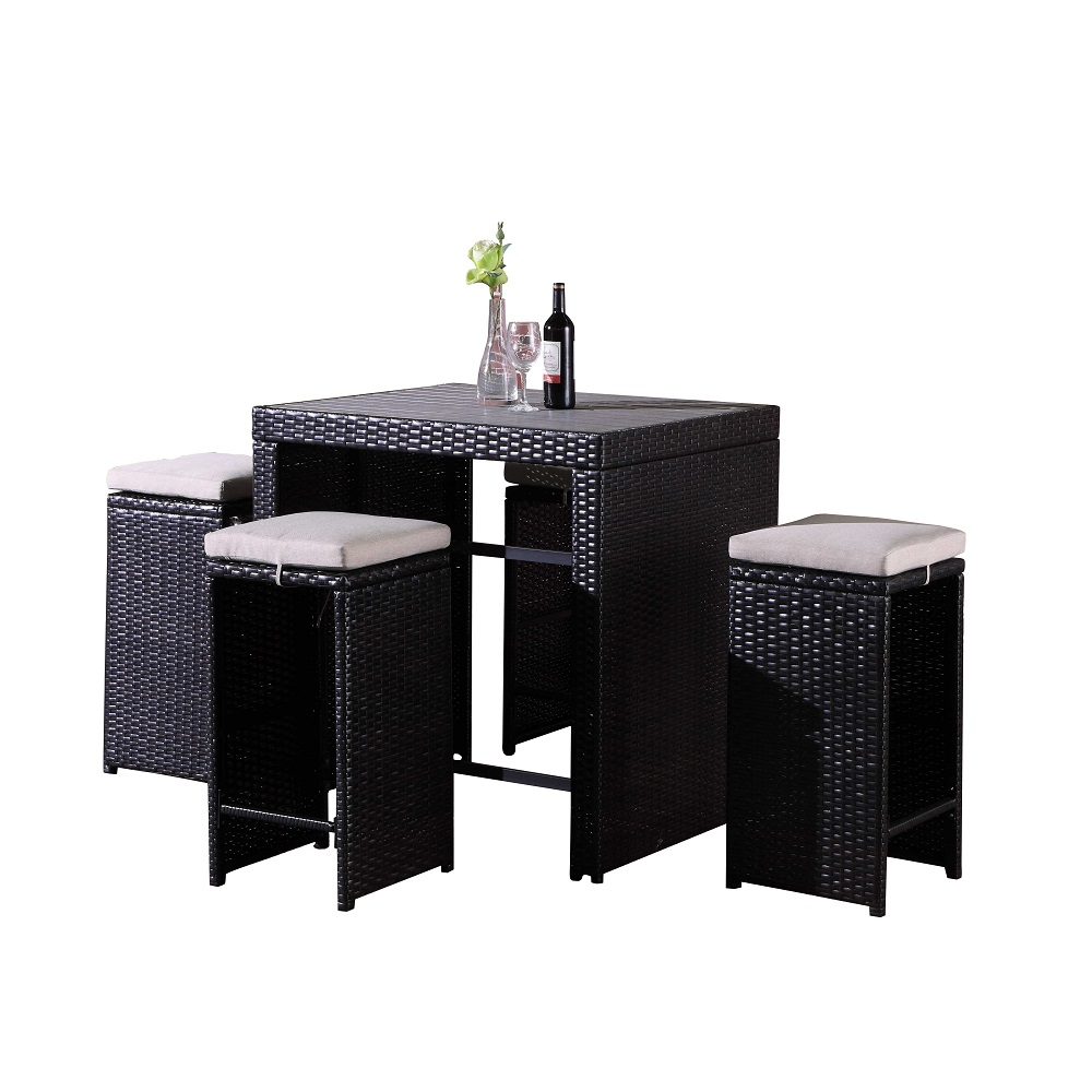 OD881 Bar table set 白底